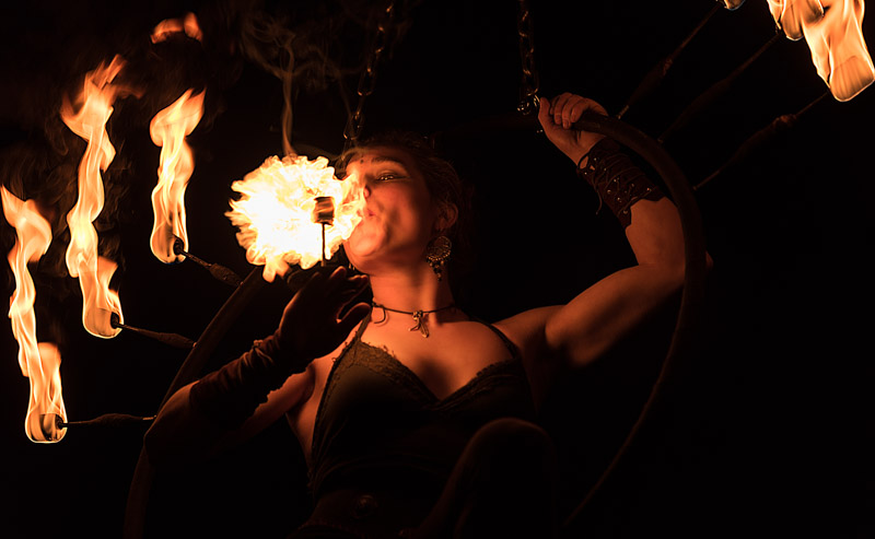 Im Feuerkreis