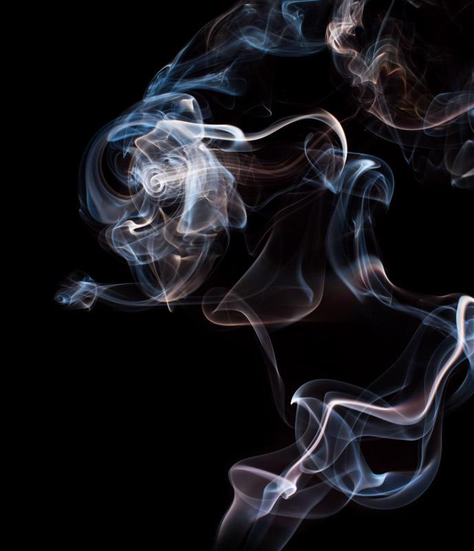 Das Auge im Rauch