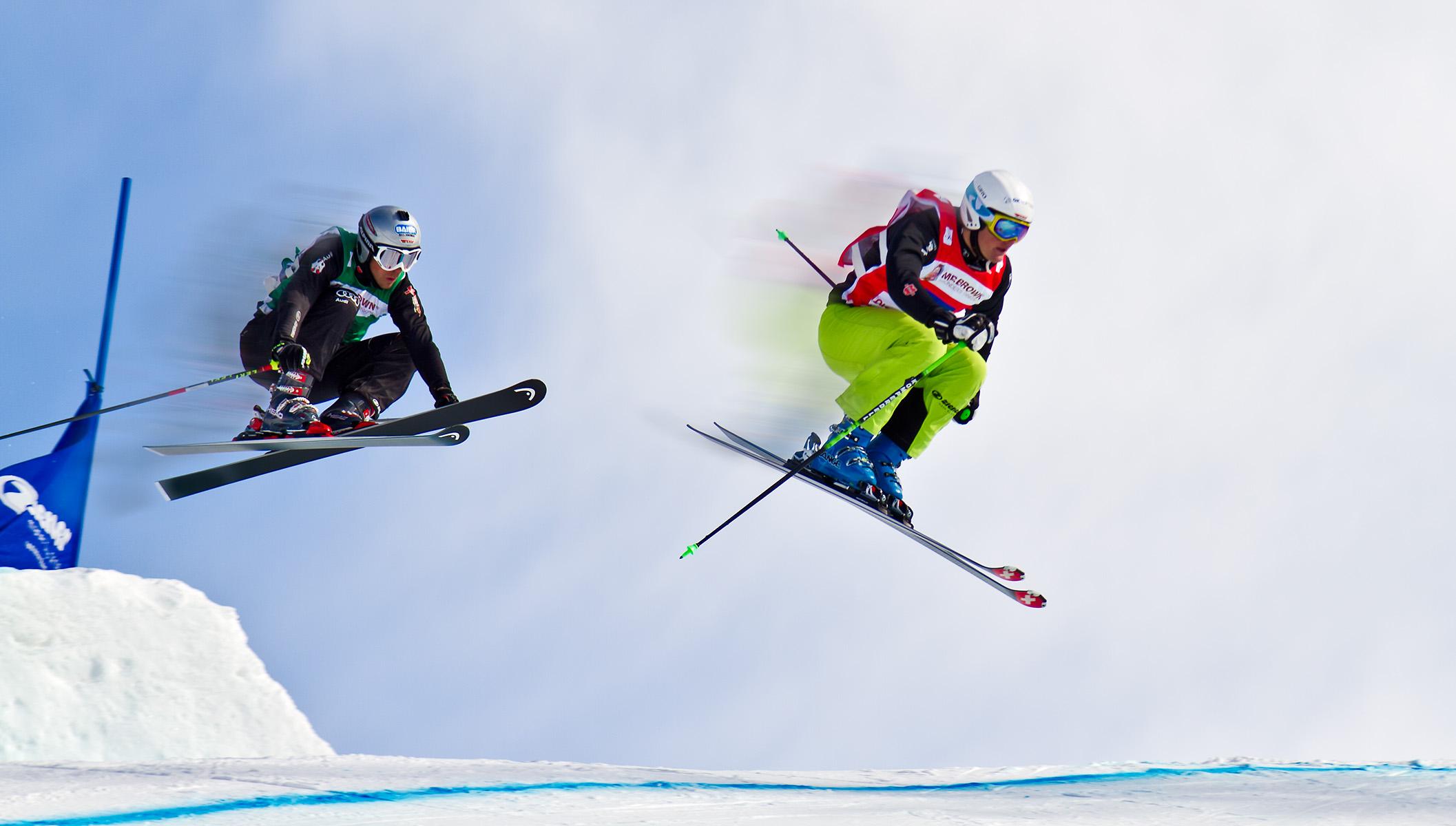 2 Skirennläufer