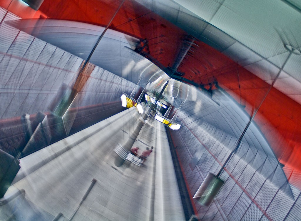 Kreilerstrasse - Kamera während der Belichtung gedreht